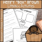 "HENRY ""BOX"" BROWN BLACK HISTORY MONTH ACTIVITIES, PROJECT, AND MORE"