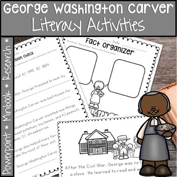 READ RESEARCH AND WRITE ABOUT GEORGE WASHINGTON CARVER BLACK HISTORY MONTH