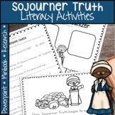 SOJOURNER TRUTH BLACK HISTORY MONTH ACTIVITIES, PROJECT, AND MORE