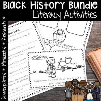 READ RESEARCH AND WRITE BLACK HISTORY MONTH THE BUNDLE