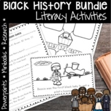 BLACK HISTORY MONTH ACTIVITIES AND PROJECT BUNDLE