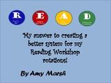 READ Reading Workshop Work Board