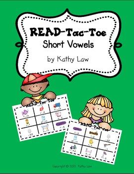READ-Tac-Toe - Short Vowels