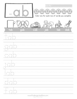 READ: Word Family Handwriting Pack