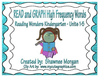 READ and GRAPH High Frequency Words – Reading Wonders Kind