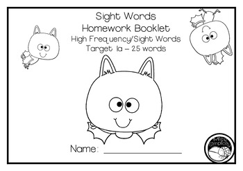 READ and WRITE fry's sight words HOMEWORK BOOKLET vic mod cursive 1st 300 words