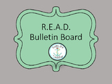 READ bulletin board posters