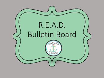 READ bulletin board posters