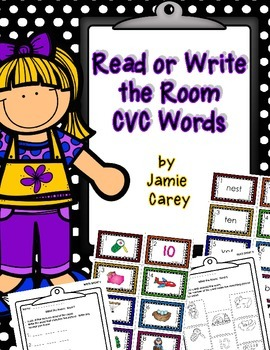 READ or WRITE the Room:  CVC Words
