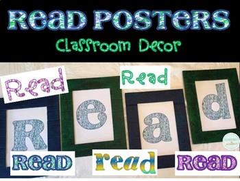 READ sign classroom decor