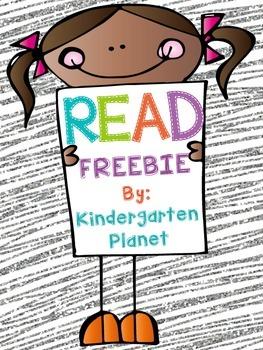 READ (word) Freebie