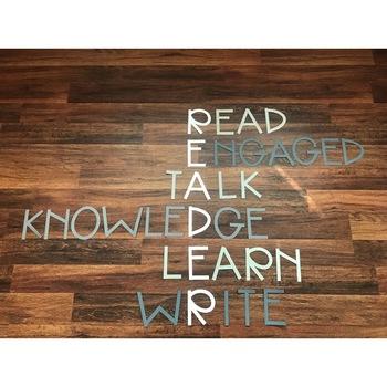 READER Classroom Sign