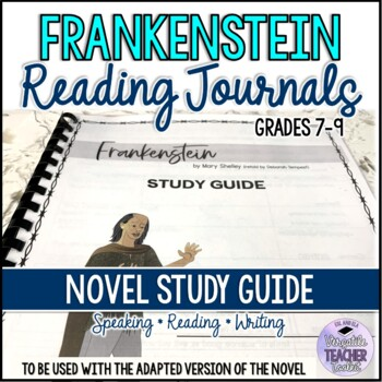 Frankenstein Reading Journals with Answer Key Penguin Active Readers 3