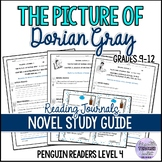 The Picture of Dorian Gray Reading Journals Penguin Readers Level 4 + Answer Key