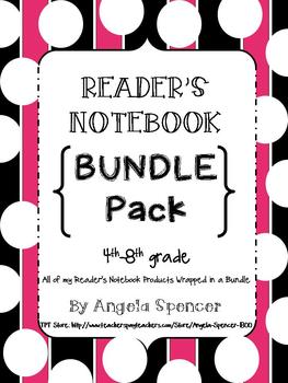 READER'S NOTEBOOK BUNDLE: Everything You Need for a Reader's Notebook
