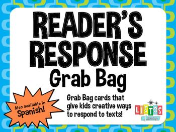 READER'S RESPONSE Grab Bag Cards