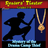 READERS THEATER BRAINTEASER MYSTERY SCRIPT for MIDDLE SCHOOL