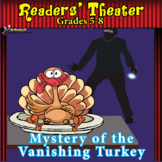 READERS' THEATER THANKSGIVING MYSTERY MIDDLE SCHOOL SCRIPT