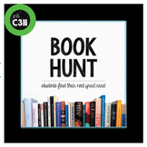 BOOK HUNT: independent reading activity, middle, high