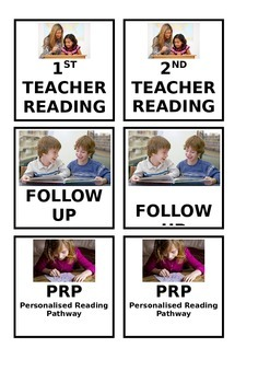 READING ACTIVITY TASK BOARD LABELS