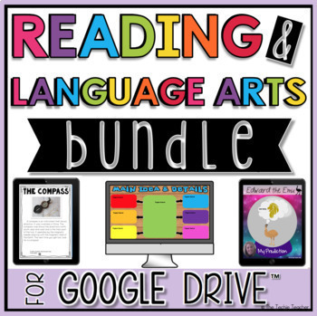 READING AND LANGUAGE ARTS DIGITAL ACTIVITIES IN GOOGLE DRIVE™ BUNDLE
