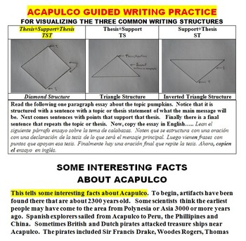READING AND WRITING ABOUT ACAPULCO!