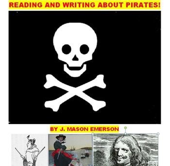 FUN READING AND WRITING ABOUT PIRATES! (ON SALE)