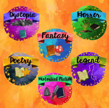 READING BADGES to encourage independent reading