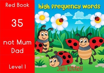 9 READING BOOKS:  SIGHT WORDS      RED BOOKS 33-40