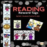 READING  REWARD TAGS SET #2