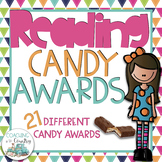 Reading Candy Awards with pictures