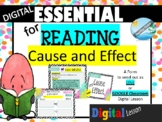 CAUSE and EFFECT READING essential form digital GOOGLE cla