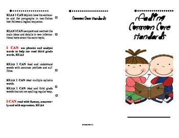 Common Core Reading Standards Assessment record