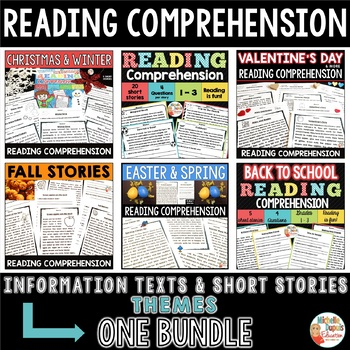 READING COMPREHENSION -  BUNDLE