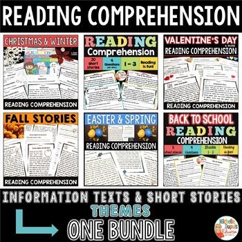READING COMPREHENSION -  BUNDLE