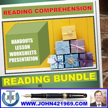 READING COMPREHENSION: BUNDLE