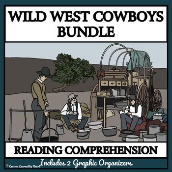 BUNDLE READING COMPREHENSION - Wild West Cowboys