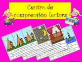 READING COMPREHENSION CENTER SPANISH CENTRO COMPRENSIÓN LECTORA ESPAÑOL