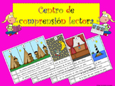 READING COMPREHENSION CENTER SPANISH CENTRO COMPRENSIÓN LE