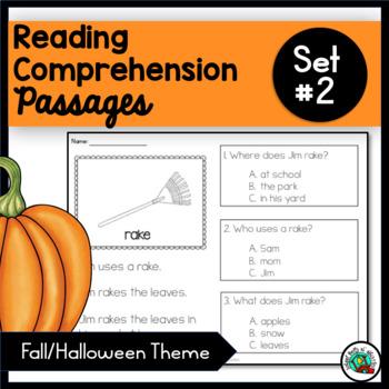 READING COMPREHENSION /FALL/ HALLOWEEN