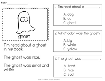 READING COMPREHENSION /FALL/ HALLOWEEN