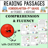 READING COMPREHENSION &FLUENCY WITH QUESTIONS (20 STORIES)