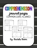 READING COMPREHENSION RESPONSE PAGES- COMMON CORE Aligned,