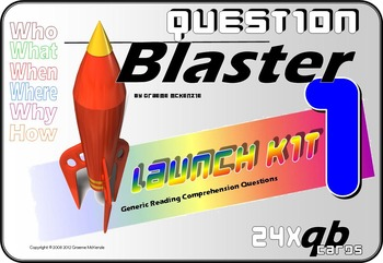 READING COMPREHENSION: Question Blaster- Launch Kit 1