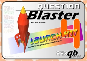 READING COMPREHENSION: Question Blaster- Launch Kit 4