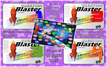 READING COMPREHENSION: Question Blaster- Launch Kits 123&4