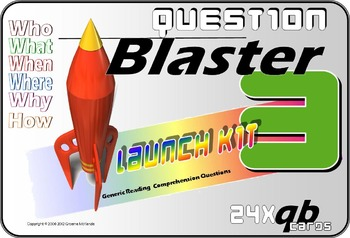 READING COMPREHENSION: Question Blaster- Launch Kit 3
