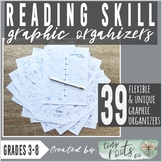 READING COMPREHENSION SKILLS GRAPHIC ORGANIZERS | 13 Skill Concepts!