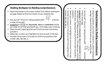 Keys of Knowledge - READING COMPREHENSION STRATEGIES