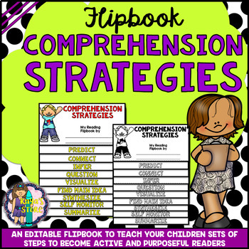 READING COMPREHENSION STRATEGIES RESEARCH FLIPBOOK